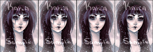 Dark Snow (Sold to Reini) by PosionWithin