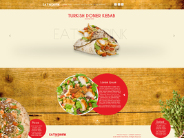 Eat and Drink web design! by nARTAlone