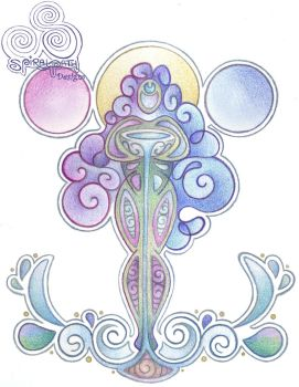 Our Lady of the Waters  by Spiralpathdesigns