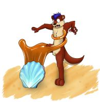 BlueWoozle Commish Otter TF 1 by Fox0808