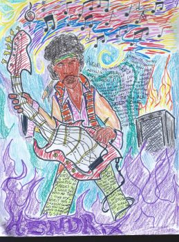 Jimi Hendrix: Are you Bold as Love by kingskeletor