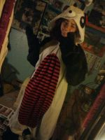 My Panda Costume by ForTheLoveOfWalrus