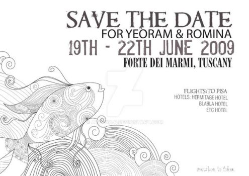 Romina's Save the Date by Athena-P