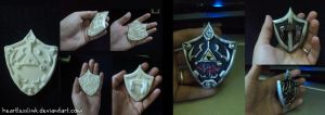 Legend of Zelda Link's Shield by HeartlessLink