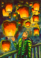 These Wonderful Sky Lanterns... by Murley