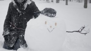 Allmighty Snow Golem of Destruction and Despair by Inui-Shinrou