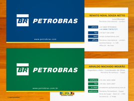 PETROBRAS Business Card by daemonumbrae