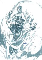 Aqualad (pencils) by emmshin