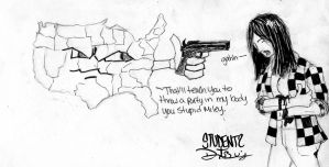STUDENTS: Shot in the USA by DeviantBoss