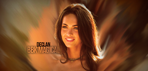 Megan Fox Signature Gift by GFX-ZeuS