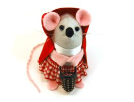 Little Red Riding Hood Mouse by The-House-of-Mouse