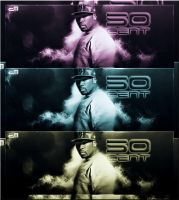 50 Cent Signature by emartworks