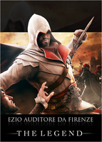Ezio Auditore The Legend by Daphnecool