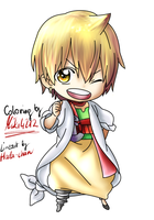 Alibaba Saluja from Magi by miki4212