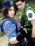 Jill and Chris - Resident Evil by PriSuicun