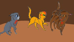 Forest Of Secrets: Ill Flay You, Fireheart! by Cardinalpaw