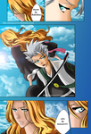 toshiro and rangiku by tamara2593