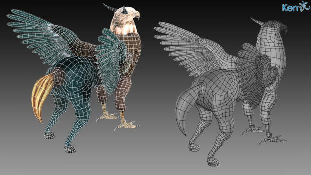 Hippogryph by kennethsjl