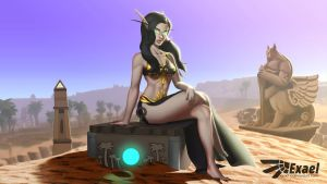 Commission - Blood Elf by Exael-X