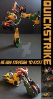 TFA Beast Wars Quickstrike by Gizmo-Tracer
