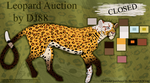 Leopard Auction -CLOSED- by DJ88