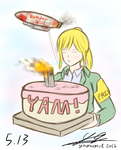 bday quickie by yamumil