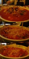 Spicy Noodle Seafood Soup by Gynecology