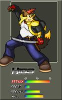 Xids Fighter Card by Xids