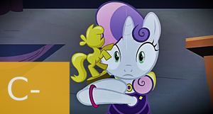 MLP FiM: S4 E19 - For Whom Sweetie Belle Review by Cuddlepug
