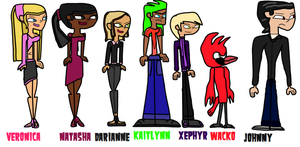 Reality TV - Sesong 1 Lineup by EternalInsanity787