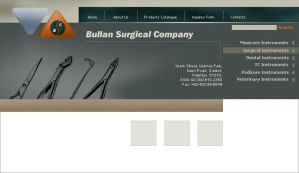 Bullan Surgical Co, Pakistan by graphican