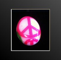 Resin Rings Series I Peace 1 by angelfunkstudio