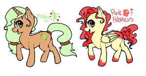 2 new MLP OCs by ChammiBee