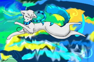 Floating in the Northern Skies by The-stray-cat