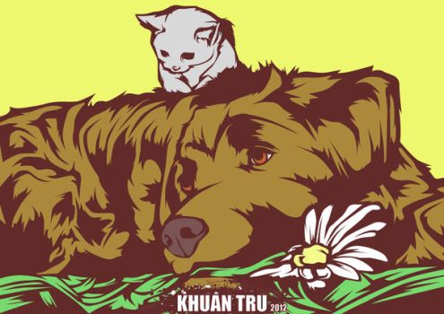 support your animal rescue by KHUANTRU