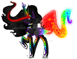 Princess Neon Boom - New Design. by NekoMellow