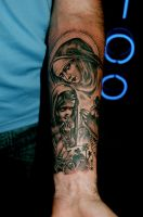 mary and child by tattooneos