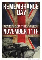 Remembrance Day Poster 2 by NeverenderDesign