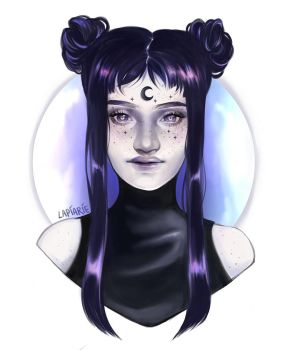 Moon Child by lapiarie