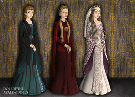 Medieval Queens II by May-May44