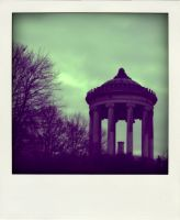 English Garden - Poladroid by QueenGorgo