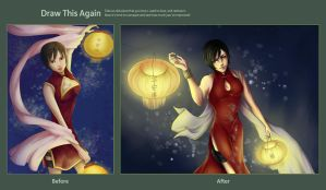 Draw This Again: Ada Wong by ShadowsIllusionist