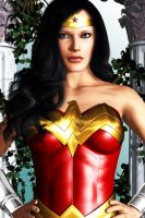Wonder Woman: New Face by FredAckerman