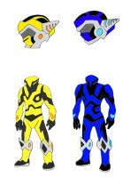 Some more of my ranger designs by NickinAmerica