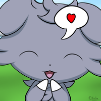 Espurr Loves You by ecmc1093