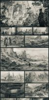 Environment Thumbnails by JoshEiten