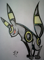 Pokemon - Umbreon Remix by SpaceCowboy-D