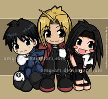 Fullmetal Cuteness by amy-art