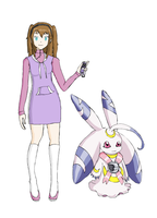 Digimon Data Squad OC by ArtistLucy