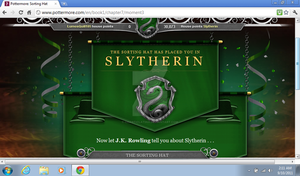 Slytherin House - Pottermore by chaoticlatina